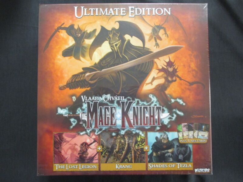 OEJ ~ Mage Knight Ultimate Edition ~ Base Game w/ 3 Expansions ~ Board Game