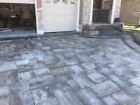 Get an interlock driveway, and receive steps for FREE!