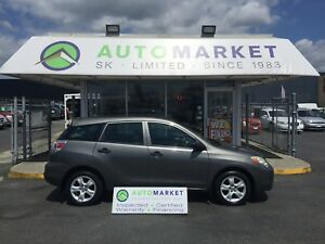 2006 Toyota Matrix XR 2WD AUTOMATIC WARRANTY!