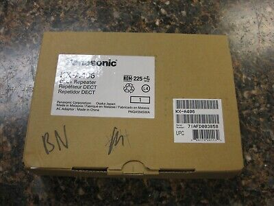 New In Box Panasonic Kx-a406 Wireless Dect Repeater