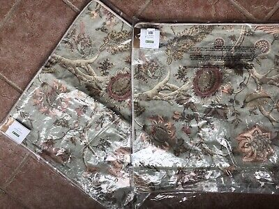 SET 2 Pottery Barn 20x20 Throw Pillow Covers Cosette Camilla NEW With Tags