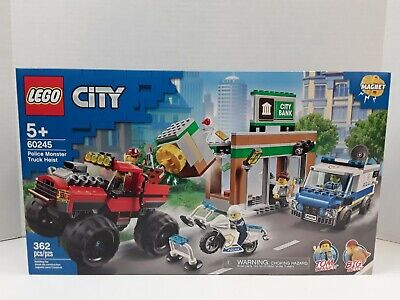 LEGO City 60245 Police Monster Truck Heist BRAND NEW FACTORY SEALED