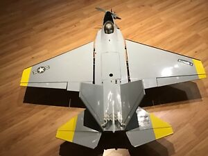 Radio Controlled Model Airplane- F22 Raptor by Hangar 9