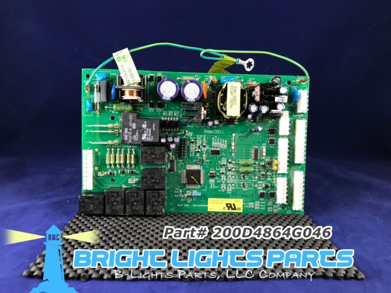 Ge Main Control Board For Ge Refrigerator 200d4864g046 Green
