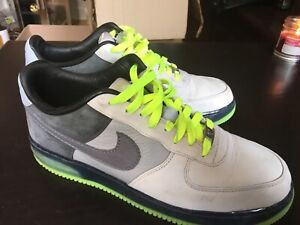 reputable site 23a95 049c6 Rare Nike Air Force 1 Space Fluo 11.5 US