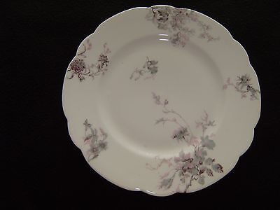 6 Vintage HAVILAND Limoges 9 1/2 In Dinner Plate Schleiger 1152-7 Disc.