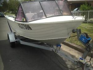 15 feet aluminium stessel boat (4.6 meter) Bankstown Bankstown Area Preview