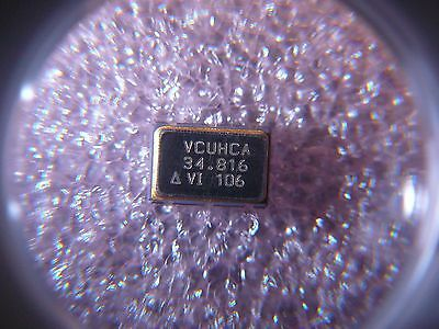 Vectron Vcuhca-34.8160mhz Vcxo Crystal Oscillator 1-ch 6-pin Ceramic New Qty.10