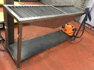 Plasma cutter and heavy duty cutting table