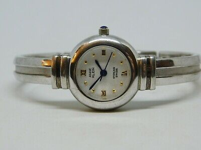 Anne Klein 12/6583 925 Sterling Silver Quartz Analog Ladies Watch