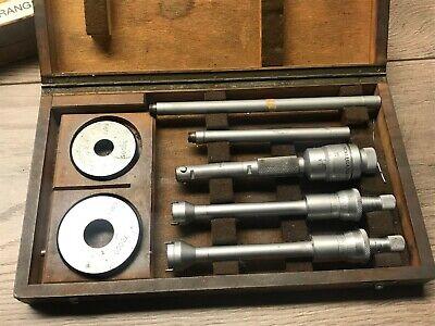 Swiss Etalon Brown Sharpe Inside Micrometer Intirmik .500 - .800