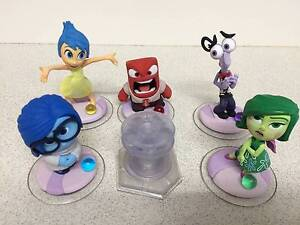 *COMPLETE SET* INSIDE OUT Disney Infinity 3.0 Disgust Sadness Nundah Brisbane North East Preview