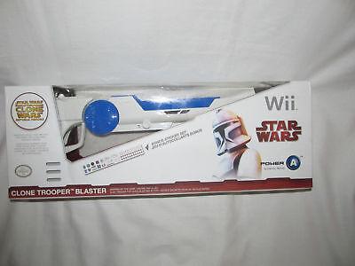 (New Star Wars The Clone Wars Republic Heroes Trooper Blaster Gun Nintendo Wii)