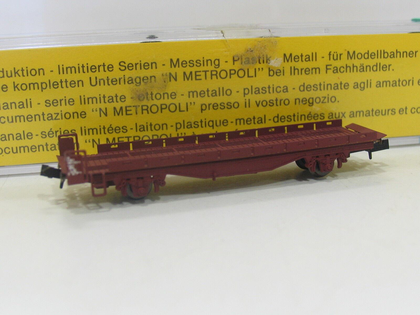 METROPOLITAN 4110 SPUR N  AUTOVERLADEWAGEN AUFFAHRWAGEN der BLS  SC109 Modeltreinen
