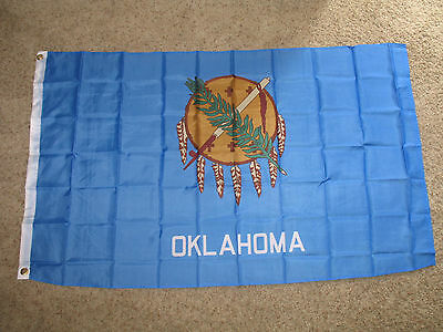 Wholesale Lot 20 3x5 State of Oklahoma Polyester Flag 3'x5' Banner