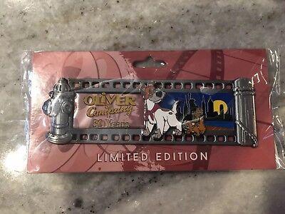 Disney Pin WDI Destination D D23 LE 250 Oliver & Co. 30th Anniversary Film Strip