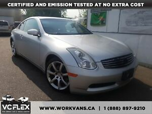 2006 Infiniti G35 COUPE AUTO SUNROOF POWER OPT!!!