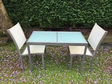 Outdoor table and chairs 3 pcs, balcony setting Willoughby East Willoughby Area Preview
