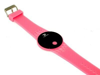 Techno King TK Women's LED Digital Watch Pink Rubber