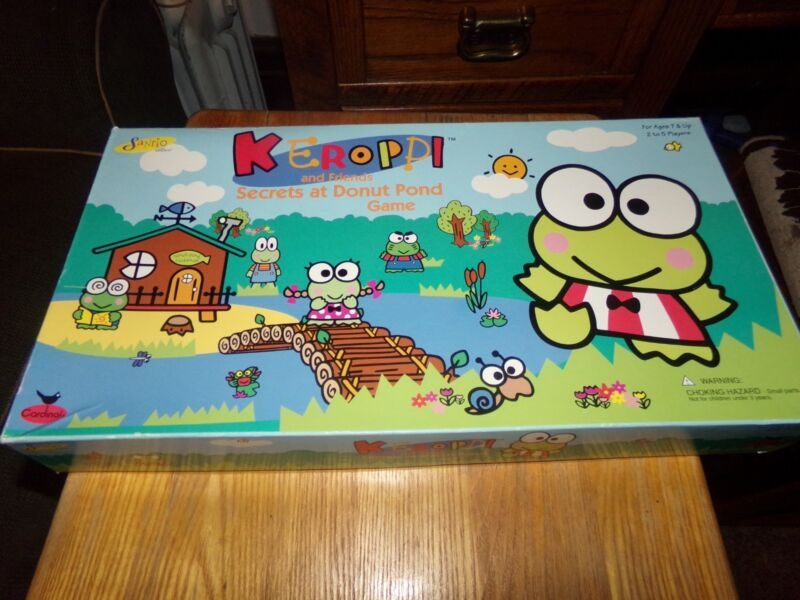 Sanrio Keroppi and Friends Secrets at Donut Pond Board Game