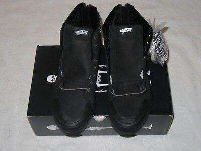 Vans Kith x Mastermind Japan Sk8-Hi Reissue Zip Black Men US Size 11 Sneakers