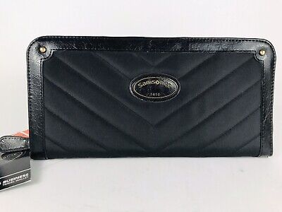 Samsonite Women's Business Travel Wallet Black NEW With Tags