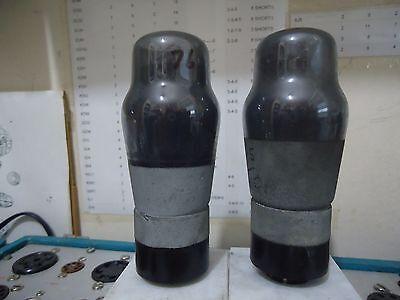 MAZDA 6P25 KT61 VALVES MATCHED TESTED PAIR BRITISH TUBES