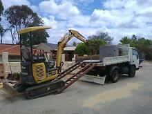 Earthworks, Earthmoving Service Excavator & tipper truck for HIRE Perth Region Preview