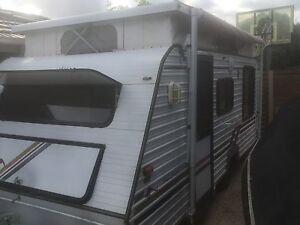 Regal 17ft pop top caravan Bonbeach Kingston Area Preview
