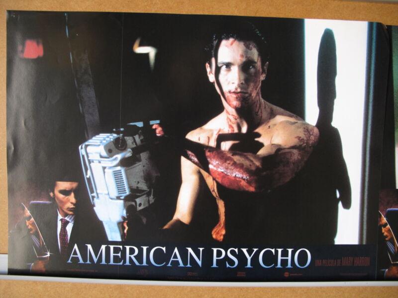 158 American Psycho Christian Bale, Willem Dafoe, Jared Leto, Josh Lucas, Samant