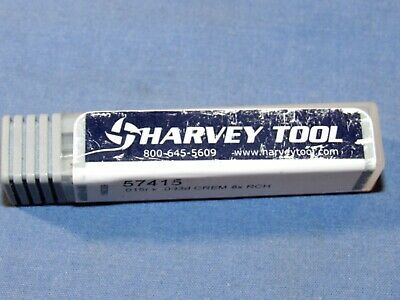 Harvey Tool Carbide Rounder Corner End Mill 2 Flute Deg Long Reach 3 Pcs Lot