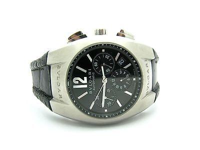 Bvlgari Ergon Chronograph Auto. Mens St Steel Watch EG 40 S CH w/ Box $2499. obo