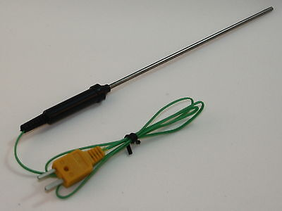 K-type Thermocouple With 6 Stainless Steel Sensor For Digital Thermometer Tc-7