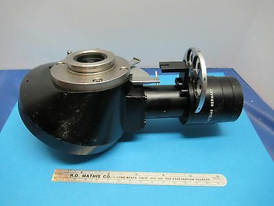 Leitz Germany Nosepiece Dark Phase Rare Optics Microscope Part As Is 85-a-36