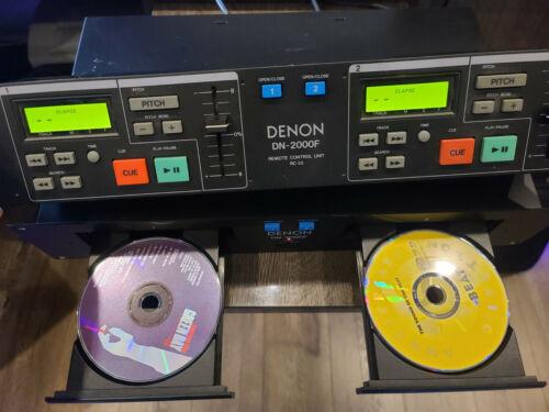 Denon DN-2000F DJ Dual CD Player