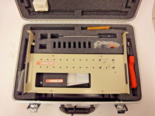 ADC WT-2 crimper, coax stripper, extraction tool, and tray kit with case