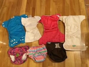 Cloth diapers / couches lavables