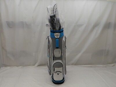 New Callaway Ladies Solaire 16 Blue 11pc Complete golf club set womens 11