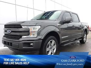2018 Ford F-150 Lariat Sport 502A with Remote start & Moonroof