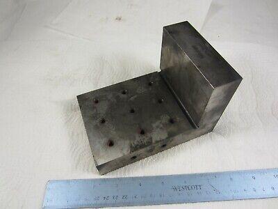 Mitutoyo 962-113 Machinist Setup Angle Block 6 X 6 X 4 Tapped Holes