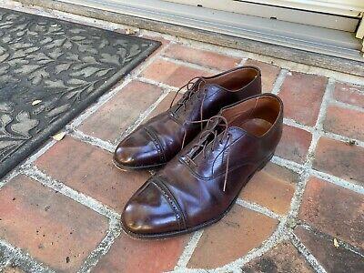 Alden Cap Toe Oxford Brogue Mens Shoe Size 11 D/C