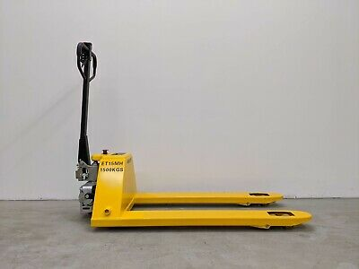 Hoc Et15h Semi Electric Pump Semi Electric Truck Pallet Jack 3300 Lb Capacity