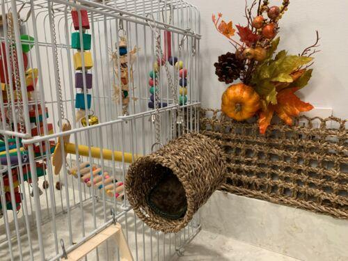 Wooden Hamster Toys Pet Toys Pack of 3 Climbing Ladder Swinging & Nesting