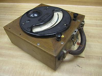 General Electric 3531709 Vintage Dc Volt Meter Wo Lid Antique