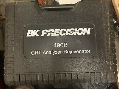 Bk Precision 490b C.r.t. Analyzerrejuvenator