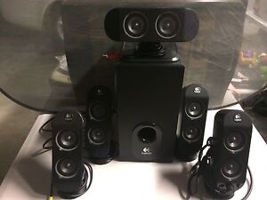 Logitech Surround speakers & Subwoofer Tarragindi Brisbane South West Preview