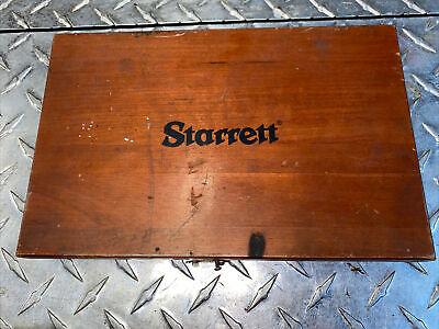 Starrett Square No.55 Beveled Edge 6 Used Free Priority Shipping Wwooden Box