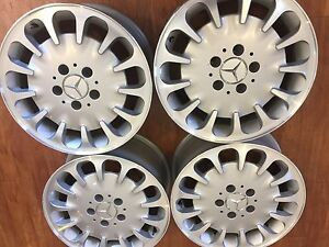 Mercedes w211 class rims Queenstown Port Adelaide Area Preview