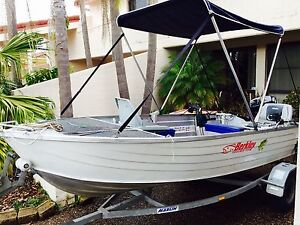 12 Ft Aluminium Boat- BRAND NEW PARSON MOTOR Killarney Vale Wyong Area Preview