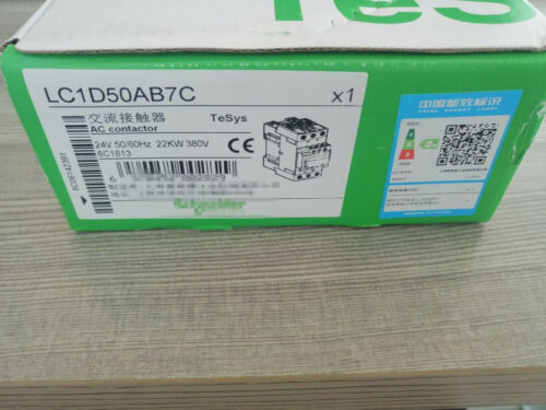 1pc Schneider Contactor Lc1d50a Ac Contactor Lc1-d50ab7c
